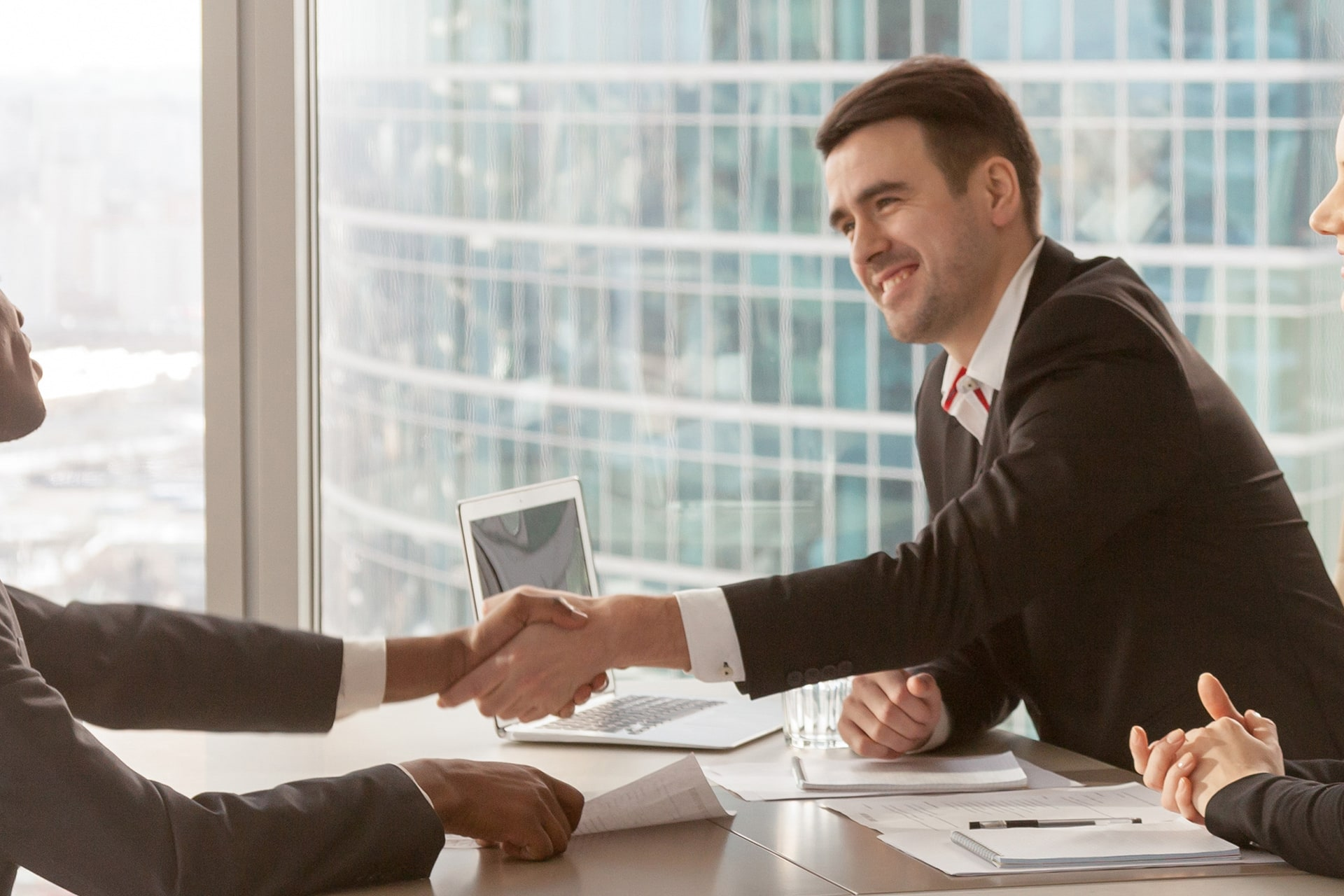 Business Line of Credit Handshake