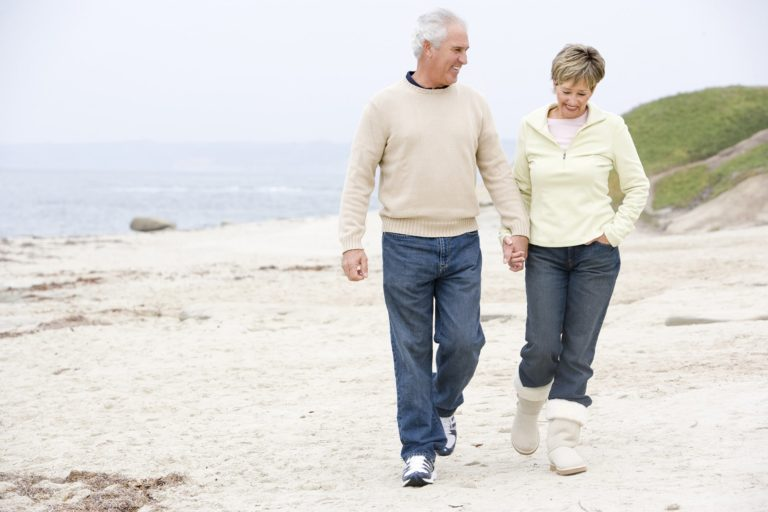 Retirement Planning Couple on Beach