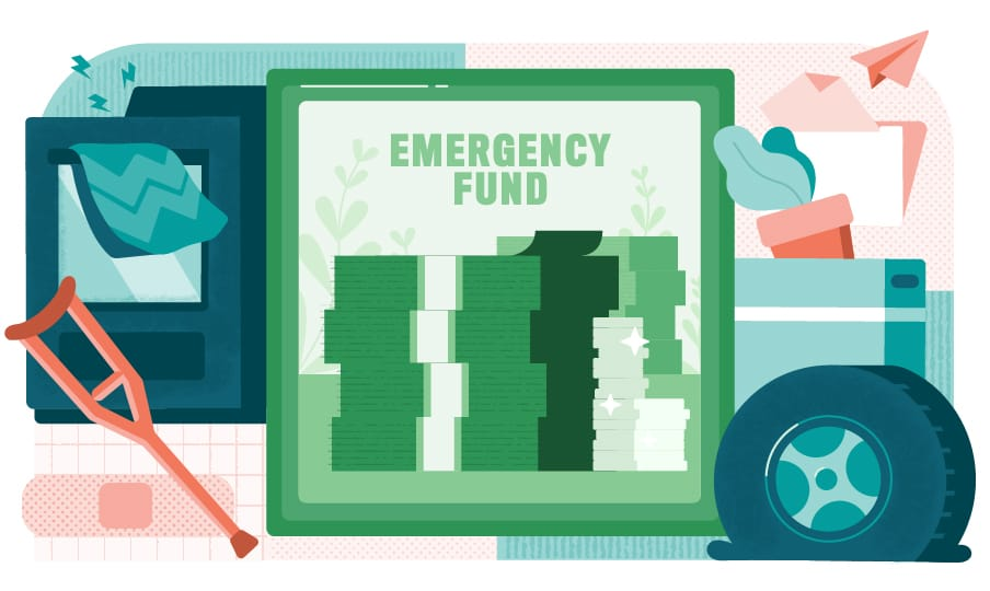 emergency fund illustration