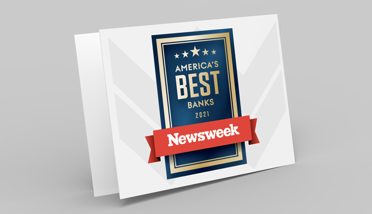 Newsweek's America's Best Banks logo