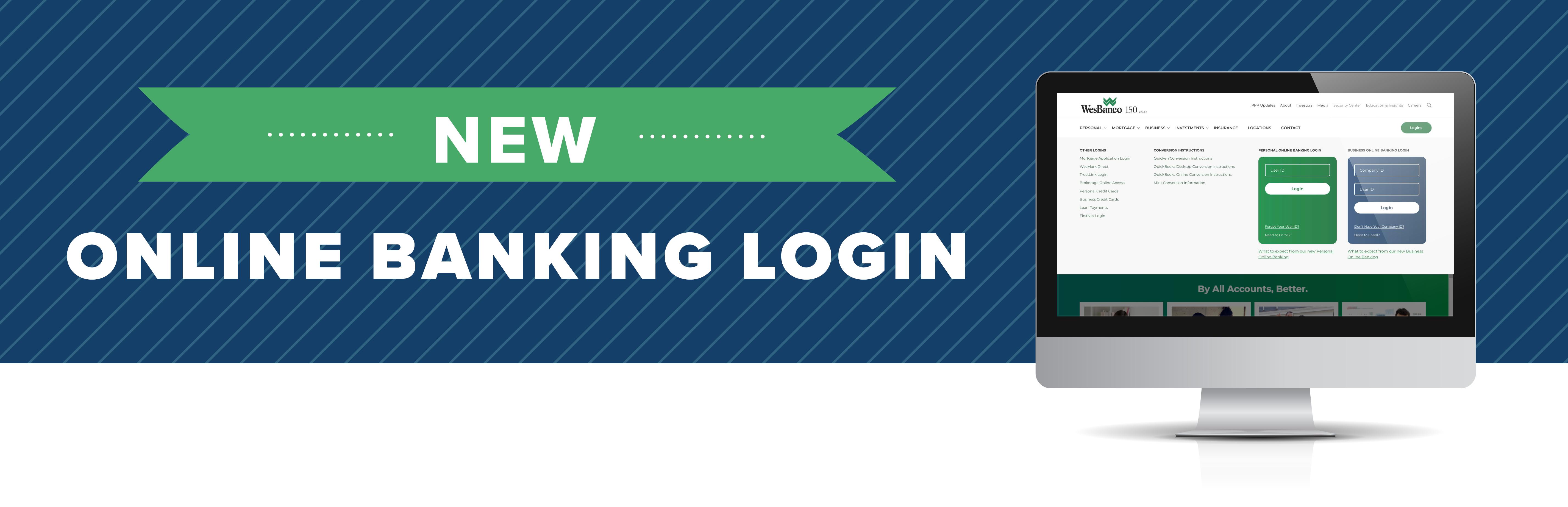 New - Online Banking Login